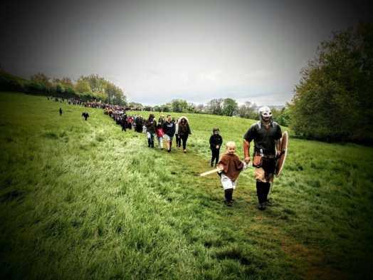 Beltane Celebration, Glastonbury Tor 2017