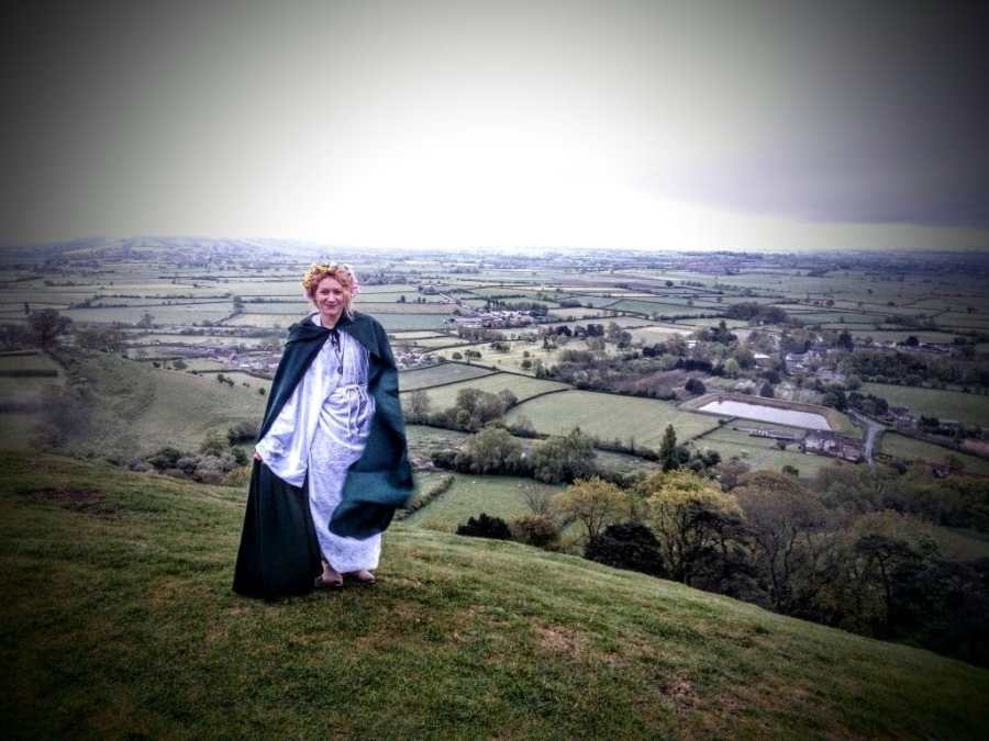 May Day Morning 2017 on Glastonbury Tor