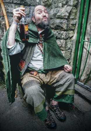 Nick, Guardian of the White Spring Glastonbury, Beltane