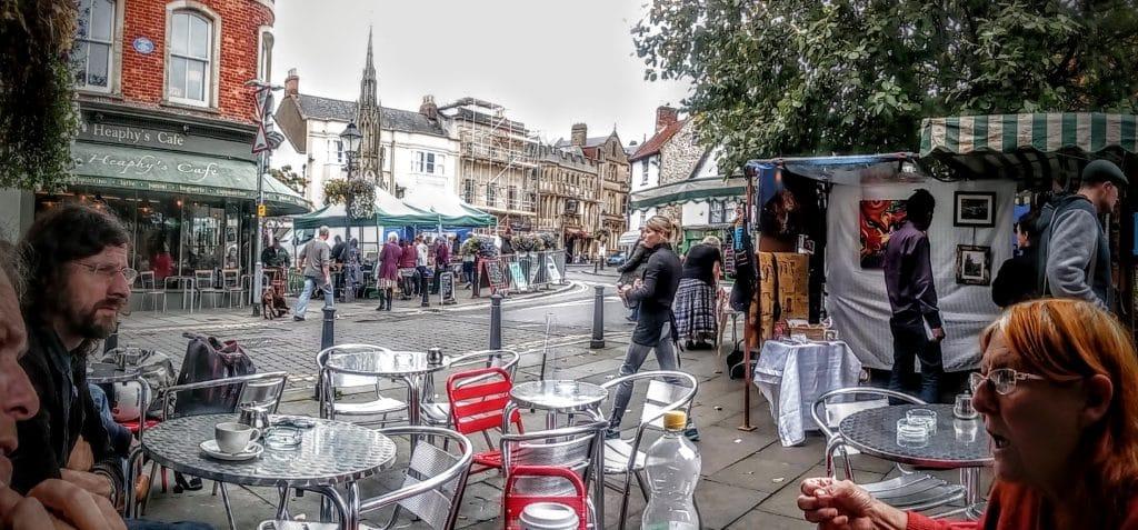 Glastonbury Town Market Day