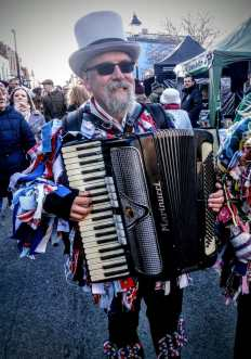I love a man with an accordian