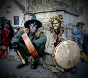Samhain 2017 Glastonbury. Photo copyright Vicki Steward