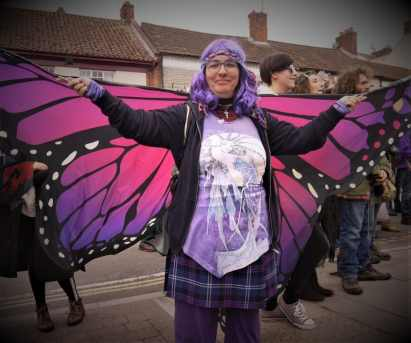 May Day in Glastonbury Town 2018. Photo by Vicki Steward for Normal For Glastonbury www.normalforglastonbury.uk