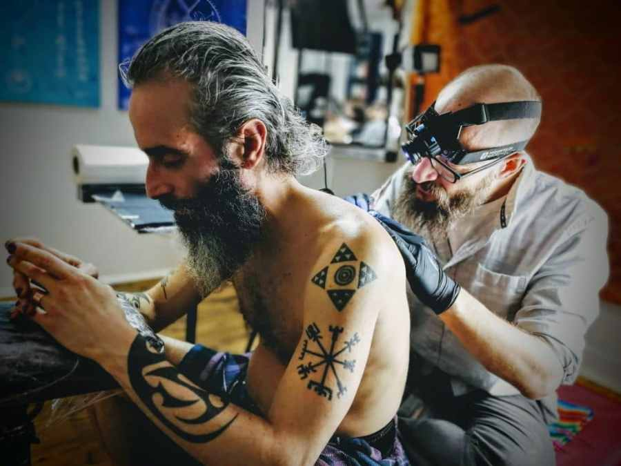 Reuben Tattooing