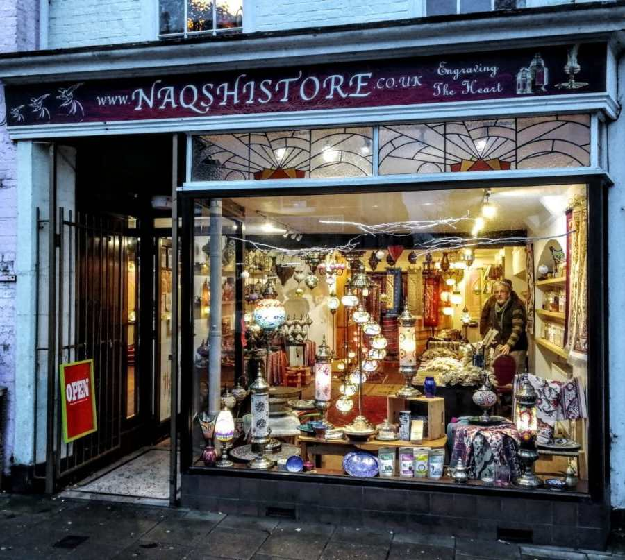 Naqhistore Glastonbury Window 2018