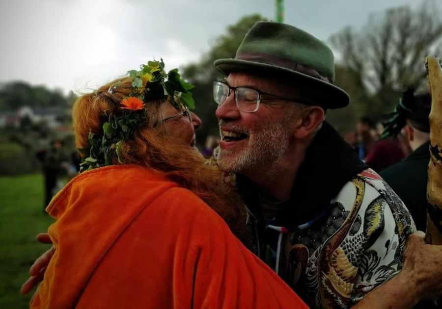 May Day in Glastonbury 2019