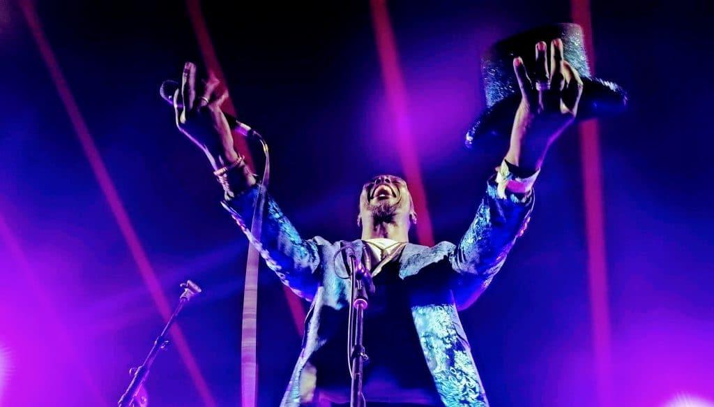 Nigel May at Glasto Latino, Glastonbury Festival 2019