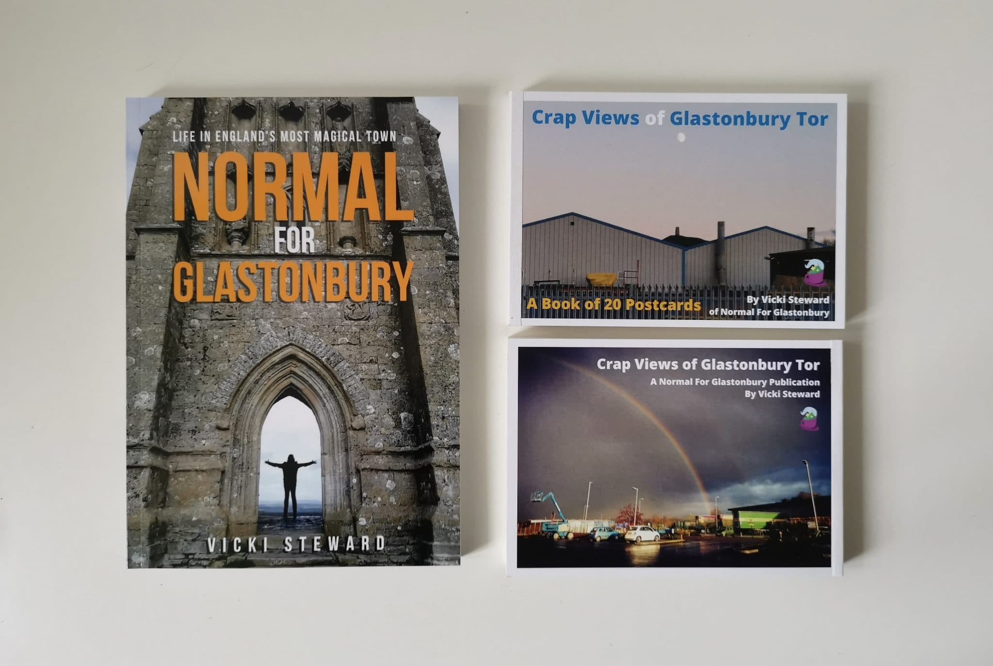 Glastonbury Book News