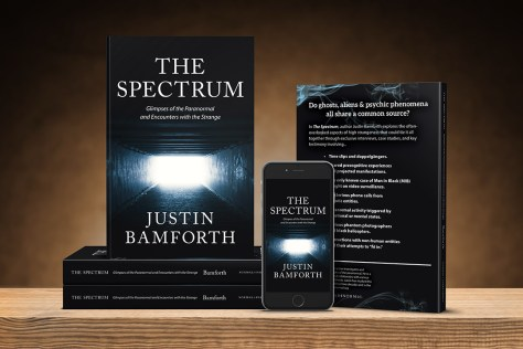 The Spectrum: Glimpses of the Paranormal and Encounters with the Strange book is available on Amazon.