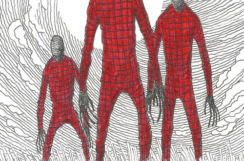 Flannel Man artwork by Timothy Renner.