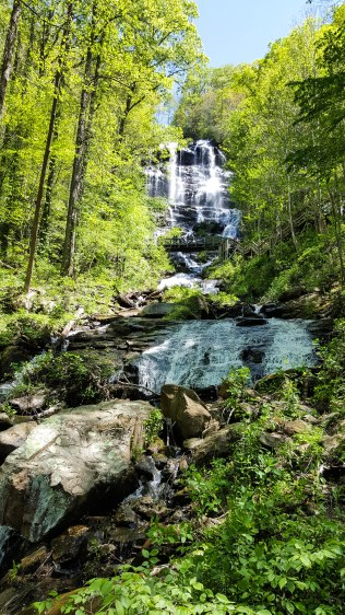 Amicalola Falls from Lower Observation Platform