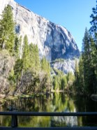Horsetail Fall and the Merced River
