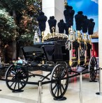 Exact replica of Lincoln hearse