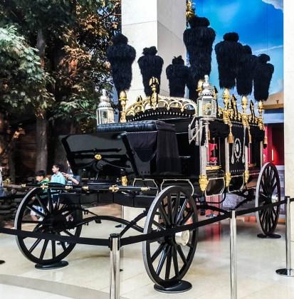 Exact replica of Lincoln hearse