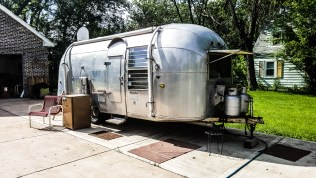 Vintage Airstream accomodations