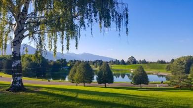 Pond at Sugar House Park, Salt Lake City, Utah