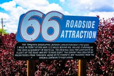 Route 66 Roadside Attraction Sign