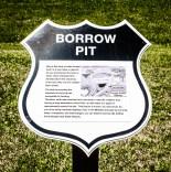 Borrow pit
