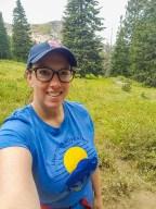 Cecret Lake Trail Selfie