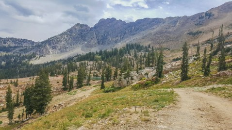 Incredibly beautiful, jagged peaks