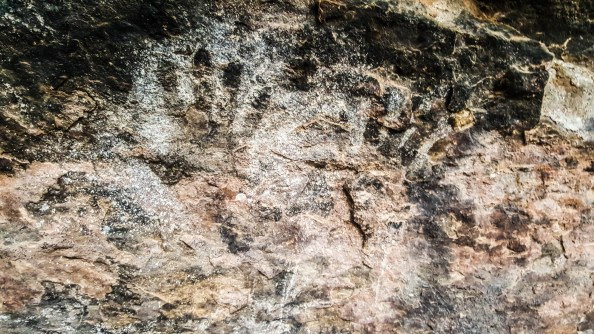 Ancient handprints