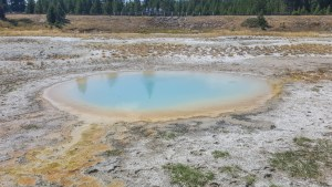 Spring at West Thumb Geyser Basin