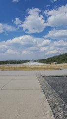 Quiet at Old Faithful