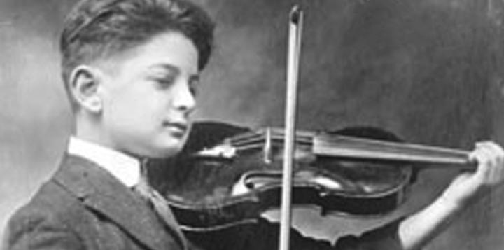 Norman Plays Violin
