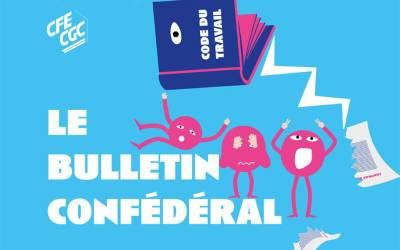 Le bulletin confédéral n° 34 de la CFE-CGC