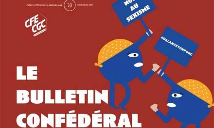 Le bulletin confédéral n°39 de la CFE-CGC