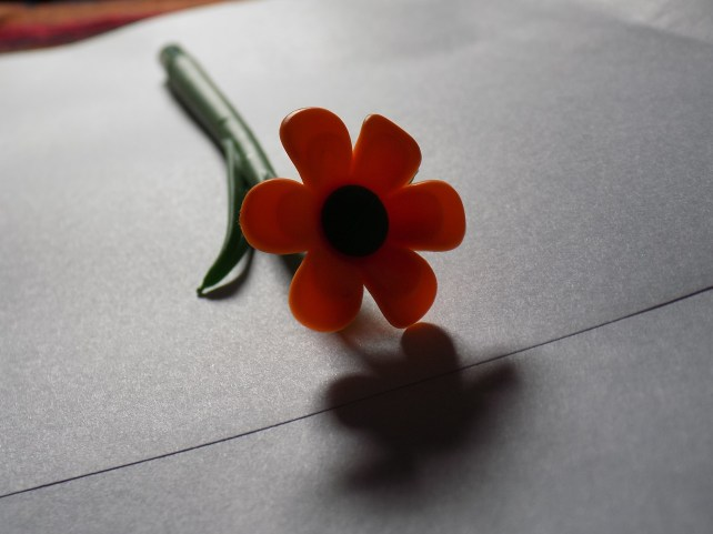 orange pen