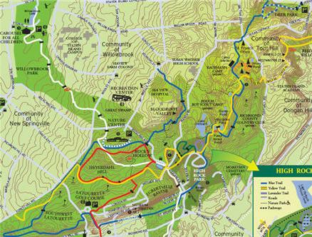 Staten Island Greenbelt Map