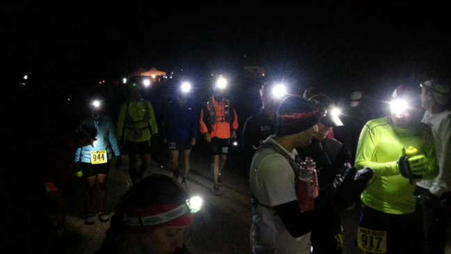 Headlamps at the Start