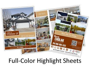 Highlight Sheet