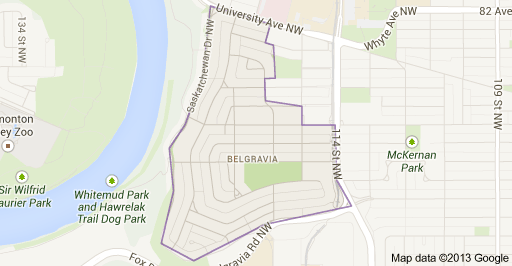 Belgravia Edmonton Homes for Sale