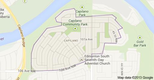 Capilano Edmonton Homes For Sale