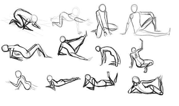 Schoolism's Gesture Drawing class and My thoughts