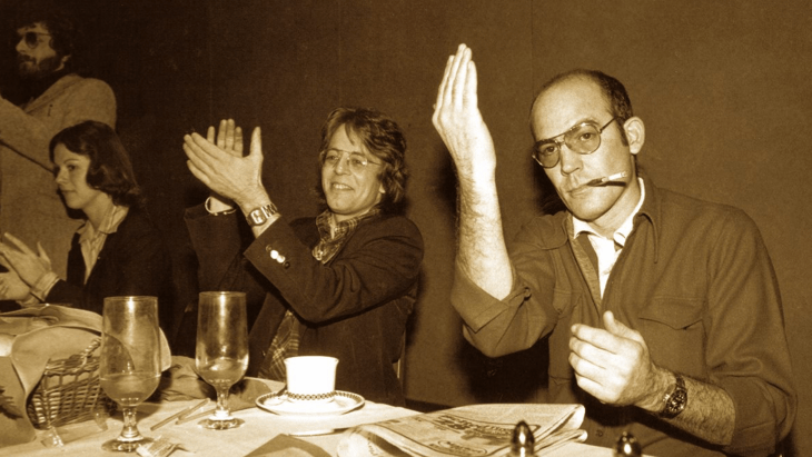 Keith Stroup & Hunter S. Thompson