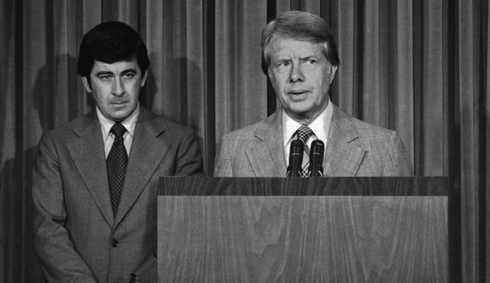 Dr. Peter Bourne and President Jimmy Carter