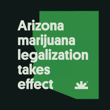 Arizona legalization takes effect