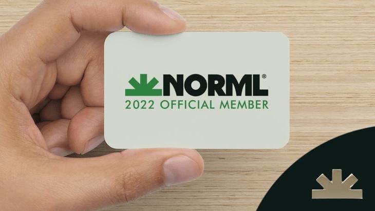 2022 NORML Membership pin set
