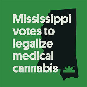 Mississippi Votes to Legalize Medical Marijuana