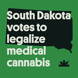 South Dakota Votes to Legalize Medical Marijuana