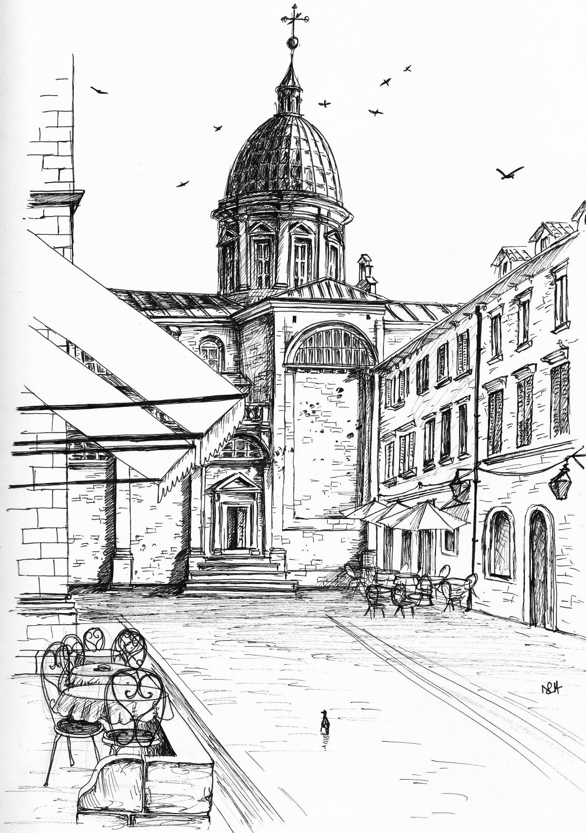 My Dubrovnik Sketchbook (Part 2)