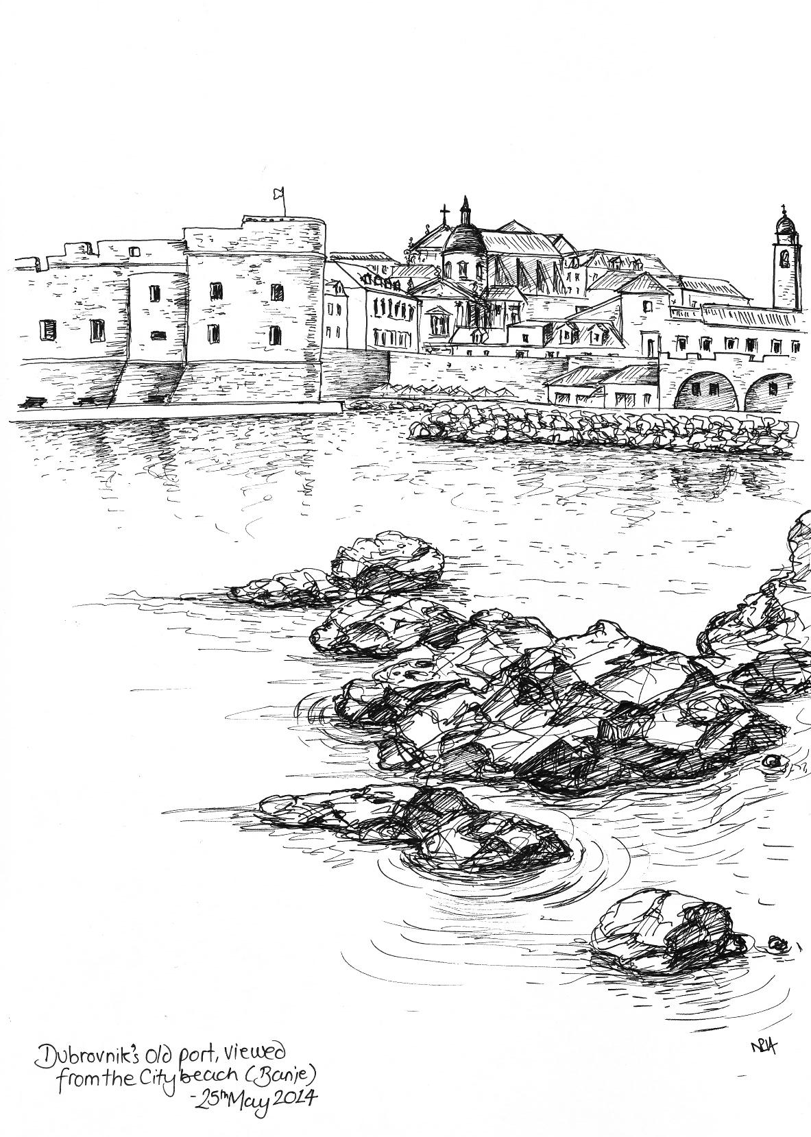 My Dubrovnik Sketchbook (Part 3)
