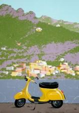 Interpretation 4: Vespa in Positano