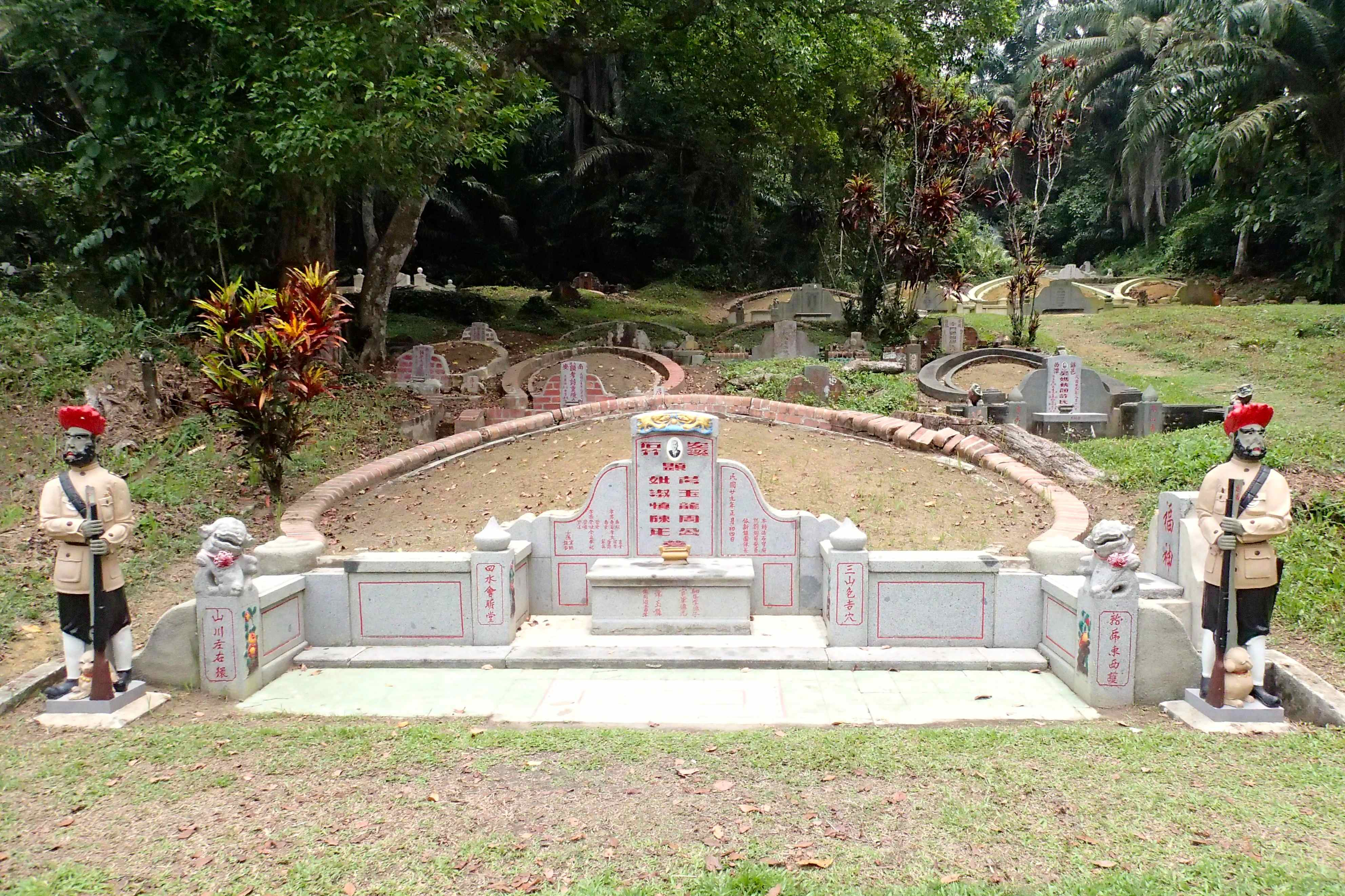 Tales from Tombstones at Bukit Brown Singapore  No Roads Barred