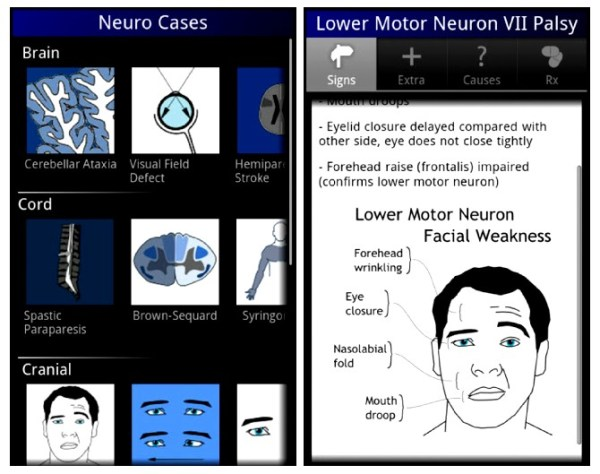 Neuro Cases Application