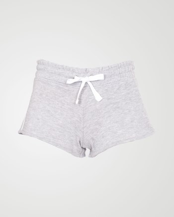 Image 1 of Womens Contrast Stripe Shorts Hot Pants color Grey and sizes 8,10,12,14,16,18 from Noroze