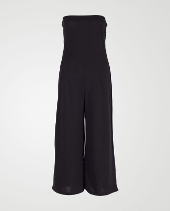 Image 1 of Womens Off Shoulder Jumpsuit in color Black and sizes 8, 10,12, 14 from Noroze